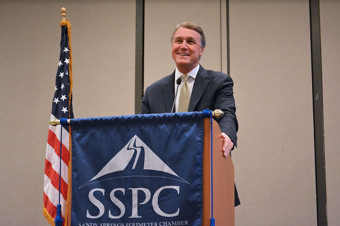 David Perdue Sandy Springs Chamber
