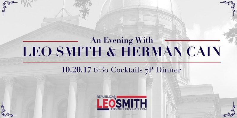 Leo Smith Herman Cain