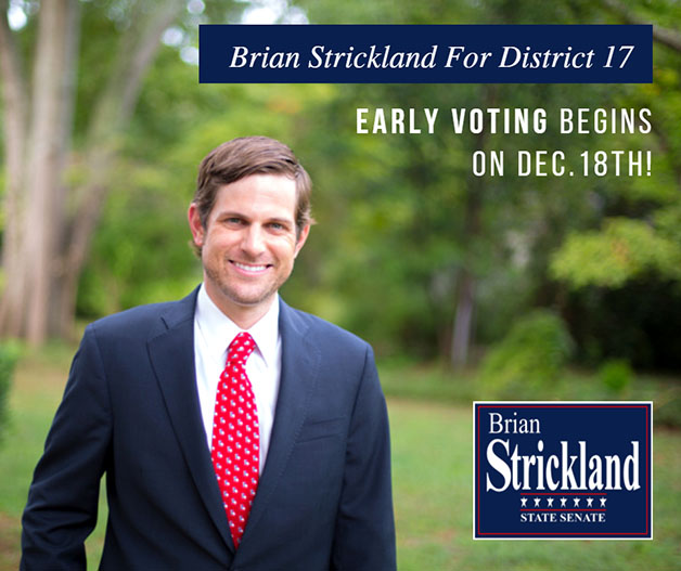 Brian Strickland Early Voting