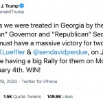 Georgia Politics, Campaigns, and Elections for December 21, 2020