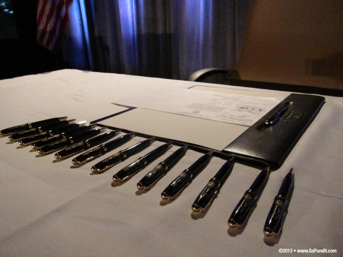 Bill Signing Pens