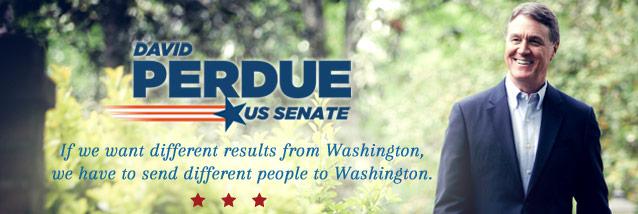 David Perdue announces for US Senate - Georgia Politics ...