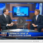 InsiderAdvantage CEO Matt Towery reviews 2013 Legislature on Fox5 Atlanta