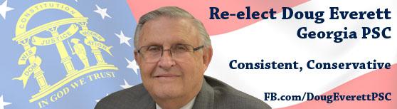 Doug Everett PSC GaPundit FB Banner