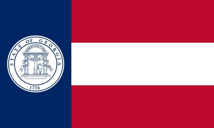 1920 Georgia Flag