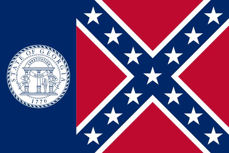 1956 Georgia Flag