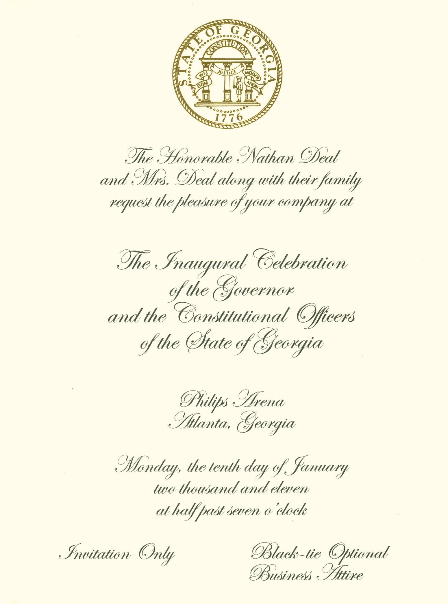 Deal 2011 Inaugural Invite