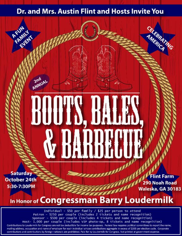 Loudermilk Boots Bales Barbecue