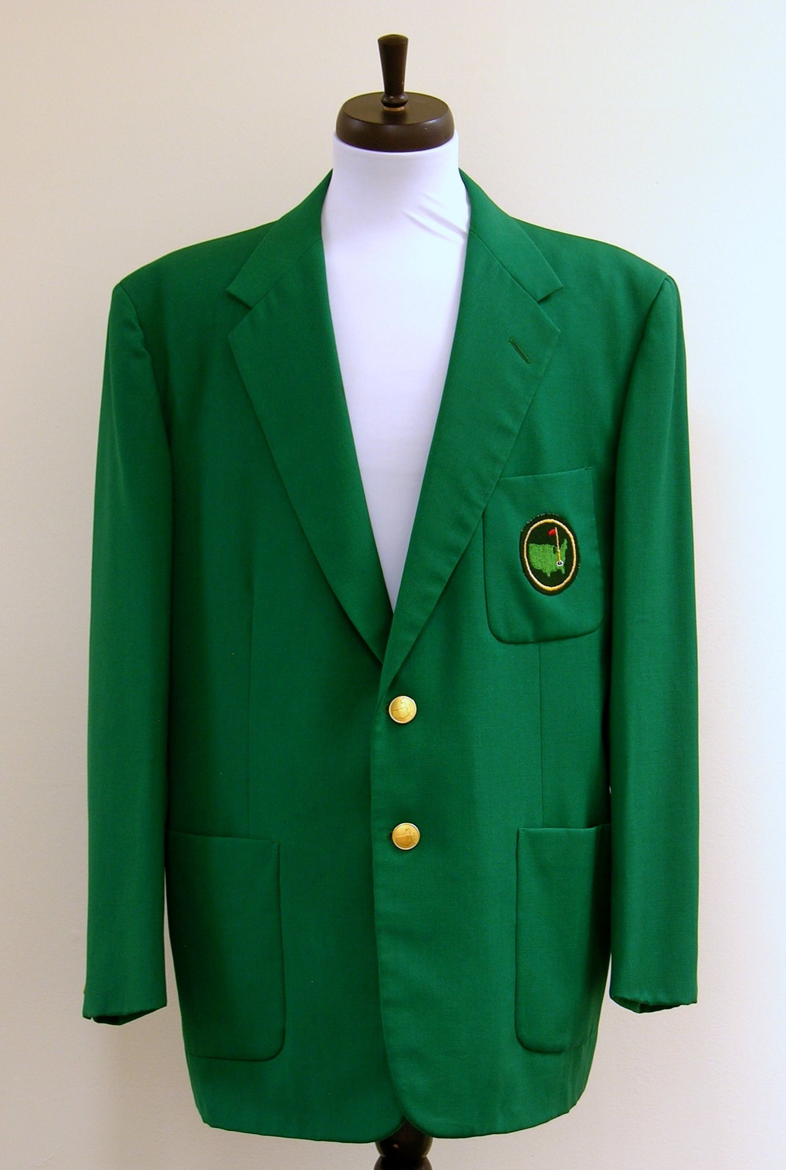 Thrift Store Green Jacket
