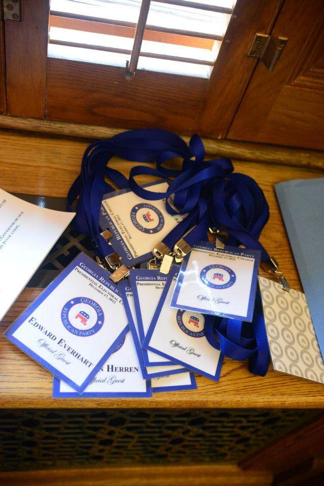 Electors Badges 2012